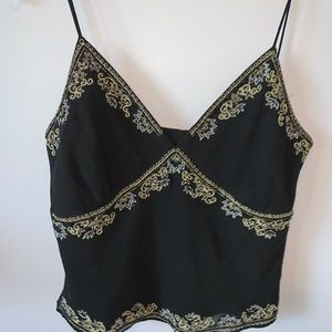 Vintage Embroidered Cami